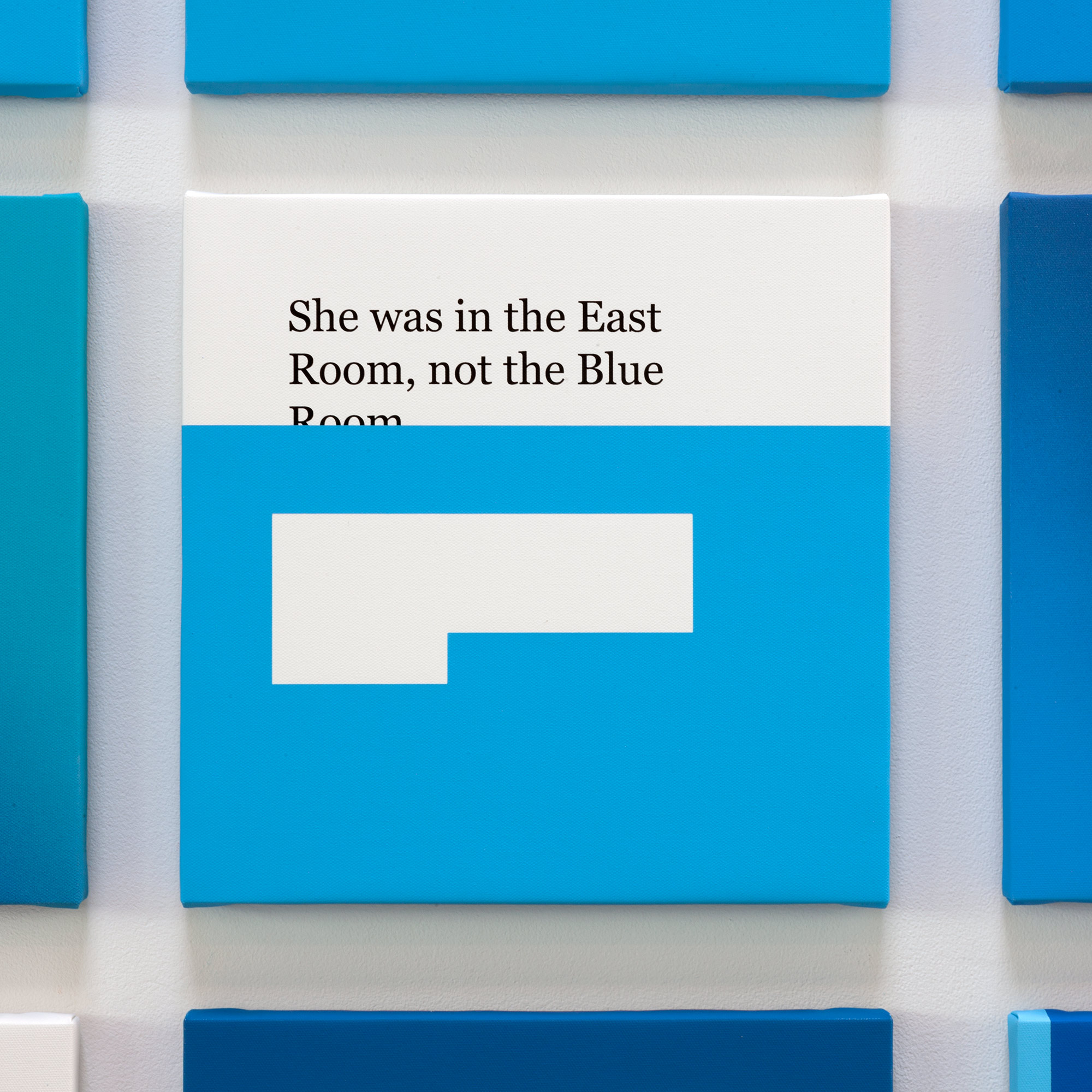 NOT THE BLUE ROOM