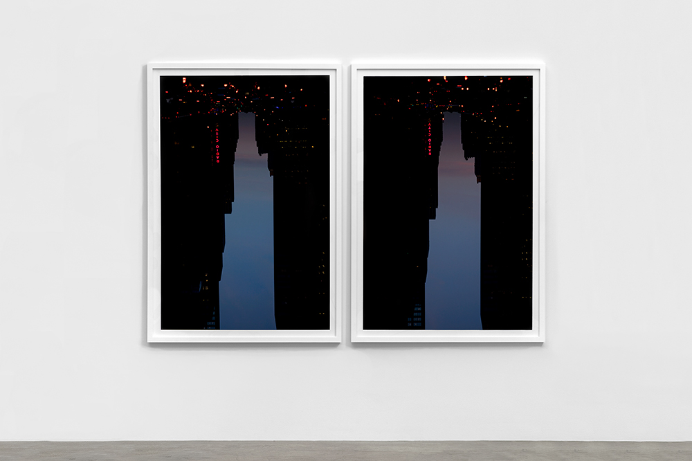BUILDINGS MADE OF SKY series