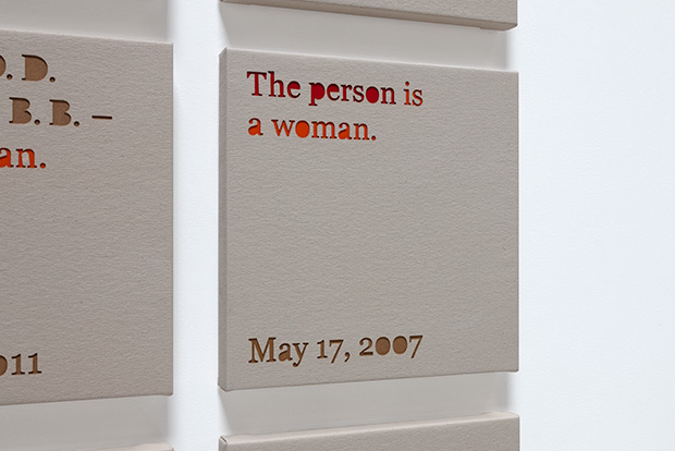 THE PERSON IS A WOMAN